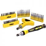 Rolson 28230 42pc Screwdriver & Bit Set