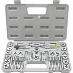 Rolson 34229 40pc Tap and Die Set Alloy Set