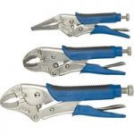 Draper Expert 88293 3 Piece Soft Grip Self Grip Pliers Set
