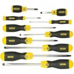Stanley 5-64-977 Cushion Grip Screwdriver Set Flared /phillips 10pce