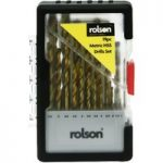 Rolson 48719 19pc HSS Drill Bit Set