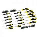 Rolson 28882 58pc Screwdriver & Bit Set