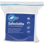 AF SCH050 Safecloth Cleaning Pads Pack Of 50