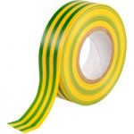 Ultratape Green/Yellow PVC Insulating Tape 19mm x 20m