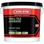 Evo-Stik 416642 Instant Grab Wall Tile Adhesive 10 Litre