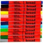 Berol Colourbroad Pens – Pack of 12