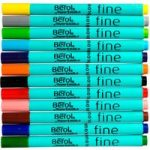 Berol Colourfine Pens – Pack of 12