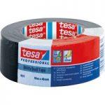 tesa 04613 Professional Utility Duct Tape 48mm x 50m – Black
