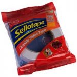 Sellotape 1447052 Double Sided Tape 25mm x 33m