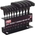 Siegen S0466 Hex Key Set 10pc T-handle Metric