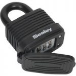 Sealey PL301CW Steel Body Weatherproof Combination Padlock 42mm