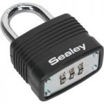 Sealey PL301C Steel Body Combination Padlock 40mm