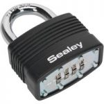 Sealey PL302C Steel Body Combination Padlock 46mm