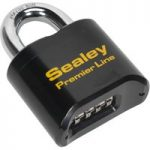 Sealey PL603 Steel Body Combination Padlock 62mm