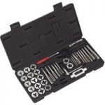 Sealey AK3012 Tap and Die Set 40pc Split Dies Metric