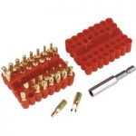Sealey AK614 Security Bit Set 33pc