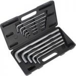 Sealey AK6143 Extra-long Large Hex Key Set 10pc Metric