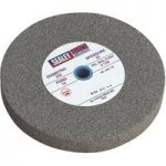 Sealey BG200/15 Grinding Stone Ø200 x 25mm 16mm Bore A60p Fine