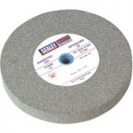 Sealey BG200/16 Grinding Stone Ø200 x 25mm 16mm Bore A36q Coarse