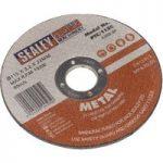 Sealey PTC/115C Cutting Disc Ø115 x 3mm 22mm Bore