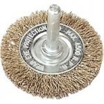 Sealey SFB50 Flat Wire Brush 50mm with 6mm Shaft