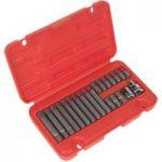 Sealey SX105 Ribe Bit Set 22pc 3/8″ and 1/2″sq Drive