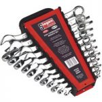 Siegen S0404 Combination Spanner Set 22pc Metric/imperial