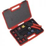 Sealey AK386 Ratchet Crimping Tool Kit 552pc