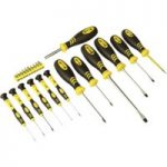 Siegen S0598 Softgrip Screwdriver and Bit Set 23pc