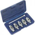 Sealey AK659 Oil Drain Plug Key Set 6pc Double End