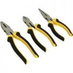 Siegen S0645 Comfort Grip Pliers Set 3pc