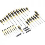 Siegen S0752 Softgrip Screwdriver and Bit Set 68pc