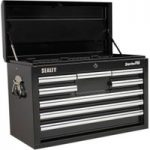Sealey AP33089B Topchest 8 Drawer with Ball Bearing Runners – Black
