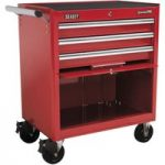Sealey AP33439 Rollcab 3 Drawer with Ball Bearing Runners – Red
