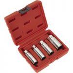 Sealey AK6556 Spark Plug Socket Set 4pc 3/8″sq Drive