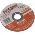 Sealey PTC/125C Cutting Disc Ø125 x 3mm 22mm Bore
