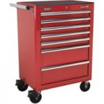Sealey AP26479T Rollcab 7 Drawer with Ball Bearing Runners – Red