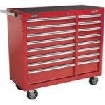 Sealey AP41169 Rollcab 16 Drawer with Ball Bearing Runners Heavy-d…