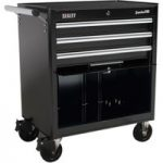Sealey AP33439B Rollcab 3 Drawer with Ball Bearing Runners – Black