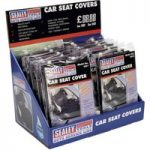Sealey CSC112 Seat Cover Display Box of 12