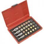 Sealey VS660 Drain Plug Thread Repair Set