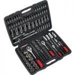 Sealey AK7955 Socket Set 171pc 1/4″, 3/8″ & 1/2″Sq Drive 6pt WallD…