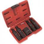 Sealey SX090 Impact Spline Socket Bit Set 6pc 3/4″Sq Drive