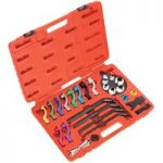 Sealey VS0557 Fuel & Air Conditioning Disconnection Tool Set 27pc
