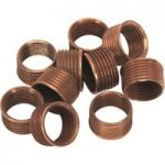 Sealey VS301.9 M14 x 1.25mm 9.4mm Thread Inserts for VS301 Pack of 10