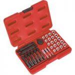 Sealey VS311 Glow Plug Thread Repair Set 33pc