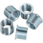 Sealey VS311.04 M12 x 1.25mm Thread Inserts for VS311 Pack of 5