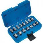 Sealey AK6588 Oil Drain Plug Socket & Key Set 15pc Magnetic 3/8″Sq…