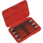 Sealey AK62257 Ball-End Hex Socket Bit Set 7pc 3/8″Sq Drive 150mm …