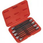 Sealey AK62261 TRX-Star Socket Bit Set 9pc 3/8″Sq Drive 150mm